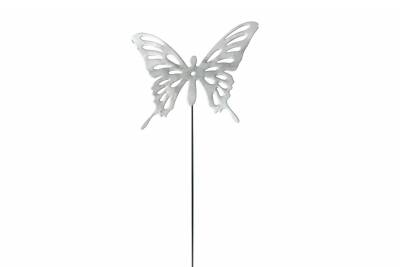 Chrome Stick Butterfly