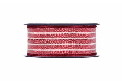 Cotton Striped red