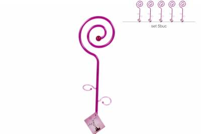 Stick decor Spirala ametist
